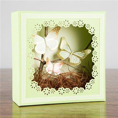 "Martha Stewart frame border punch cartridge /""blossom/"""