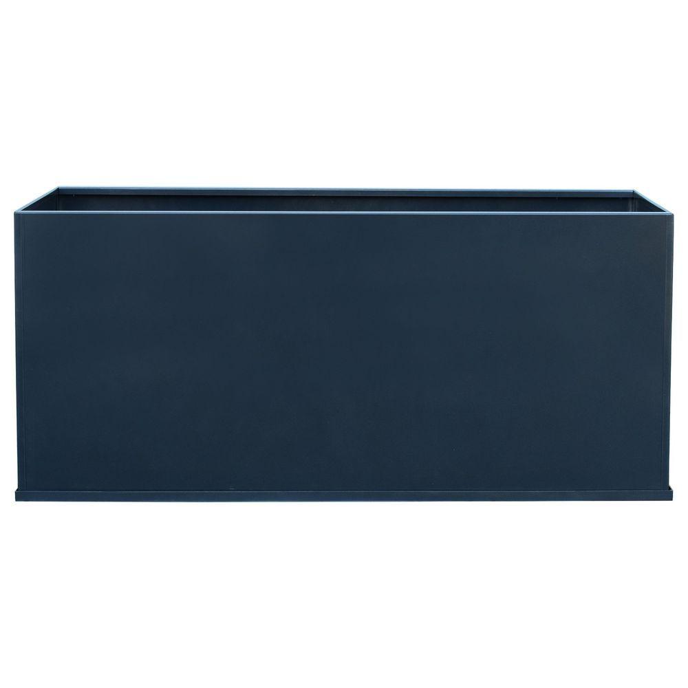 Details About Rectangular Trough Metal Planter Box Extra 400 x 300