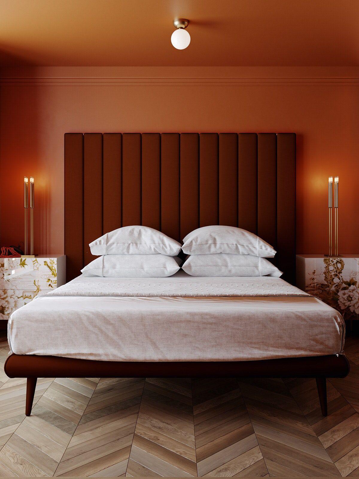 Project Hd Chaj I Pryanik On Behance In 2020 Modern Bedroom