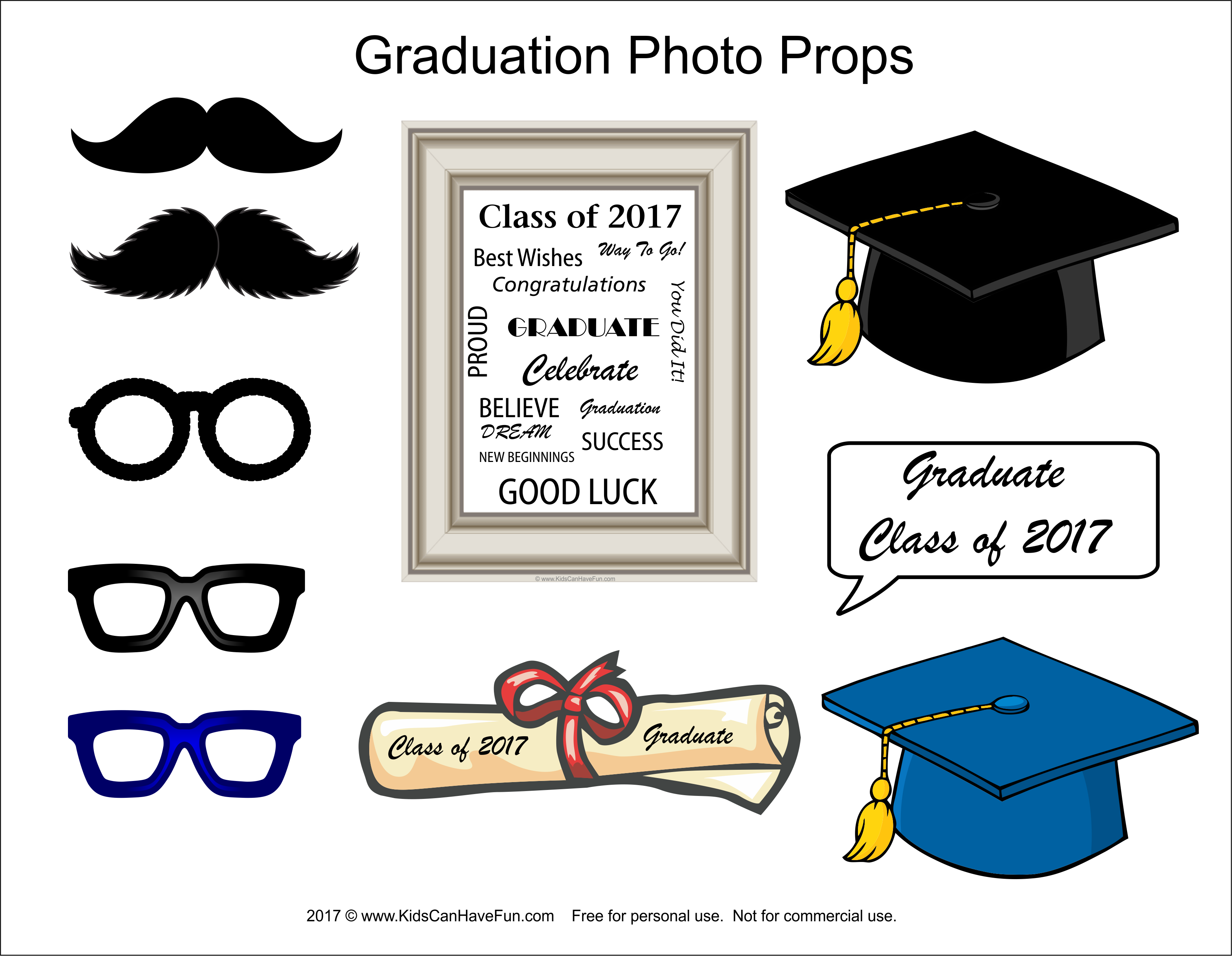 Diy graduation 2017 photo booth props httpkidscanhavefun diy graduation 2017 photo booth props httpkidscanhavefun pronofoot35fo Gallery