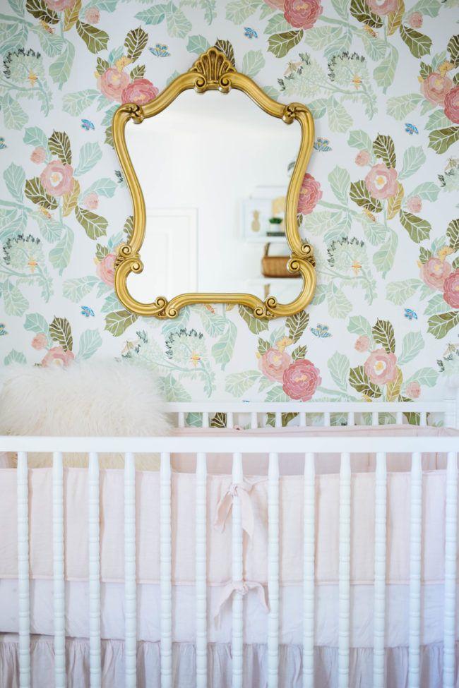 soft feminine nursery design bathroom house design nursery rh pinterest com