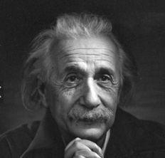 Yousuf Karsh - Albert Einstein, 1948