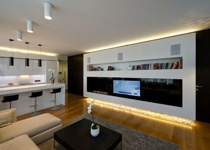 indirekte beleuchtung an decke 68 tolle fotos einrichtungsideen pinterest beleuchtung. Black Bedroom Furniture Sets. Home Design Ideas