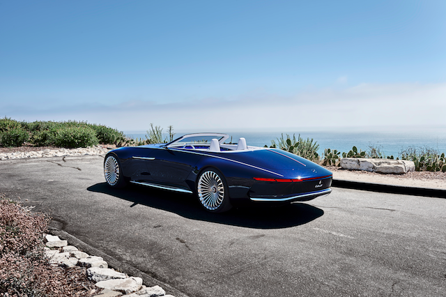 New Mercedes-Maybach Convertible Concept