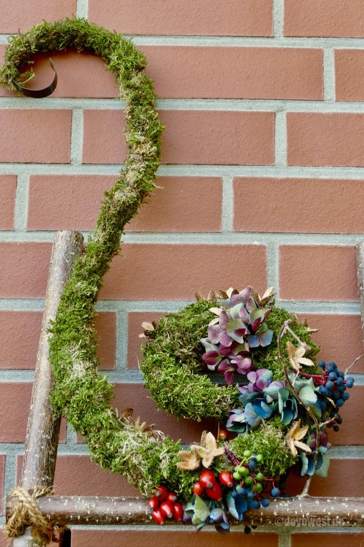 Herbstliche Moosspirale - Karin Urban - NaturalSTyle