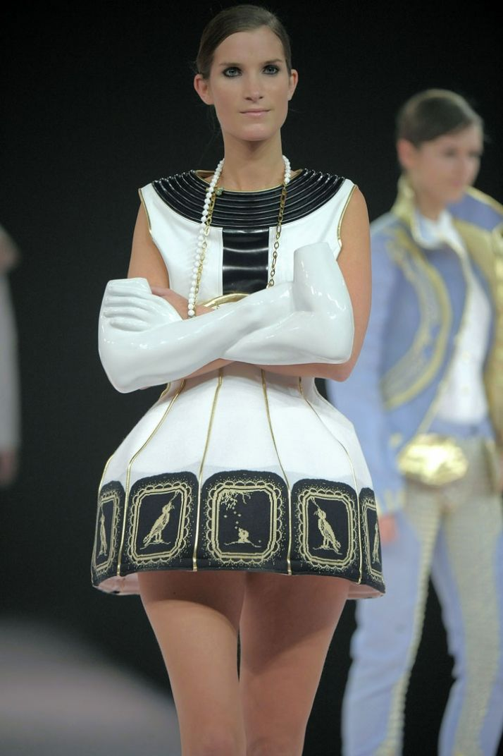 """Karisia Paponi - collection Inspired by a porcelain tea set. """"I'm a little teapot short and stout..."""""""