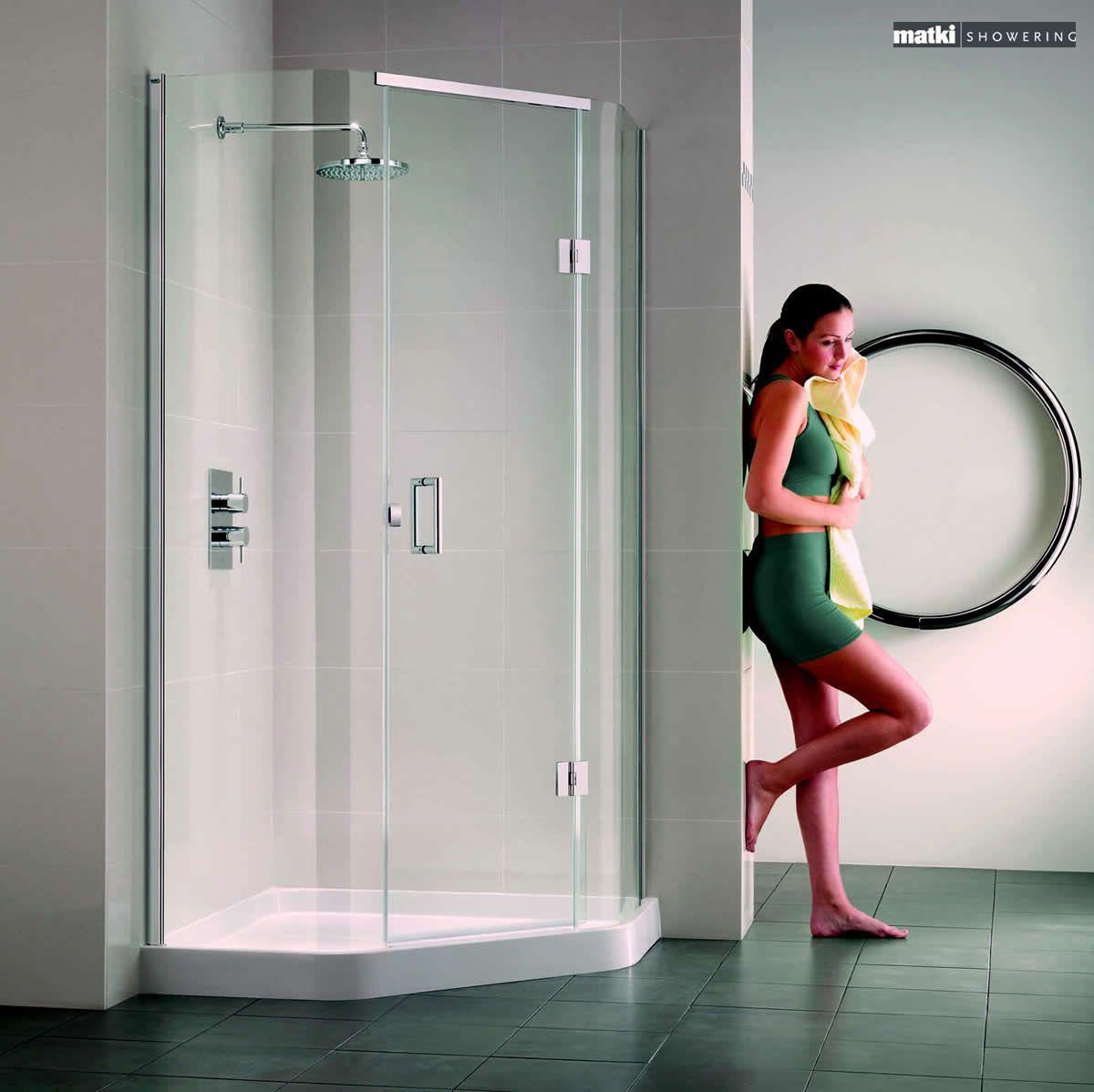 Matki Original Illusion Quintesse Corner Shower Enclosure