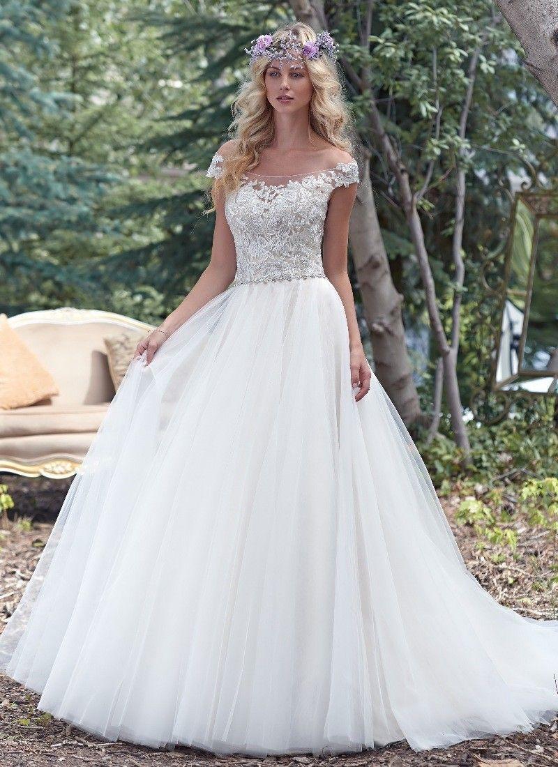 Maggie sottero montgomery wedding dress from morgan davies bridal