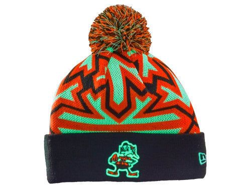 NFL Cleveland Browns New Era Glowflake Knit Hat #NewEra #BeanieHat