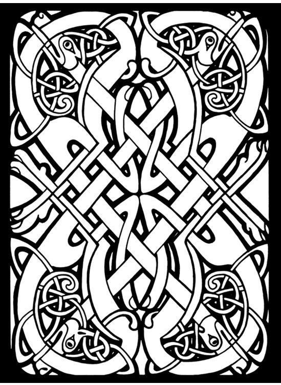 Color Celtic knots | Celtic Art | Pinterest | Celta y Bordado