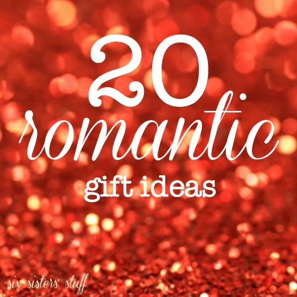 20 Romantic Gift Ideas For Valentine S Day From Sixsistersstuff Com