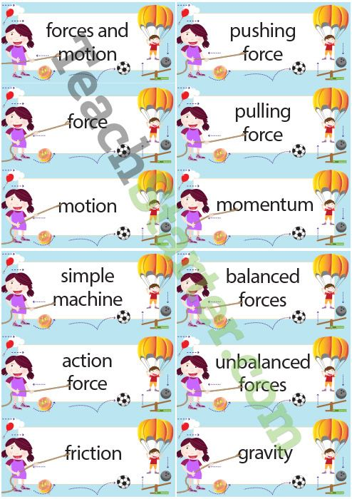 All Worksheets » Forces And Motions Worksheets - Printable ...