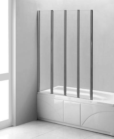 36 X 61 Folding Bath Tub Enclosure Bath Tub Glass Screen