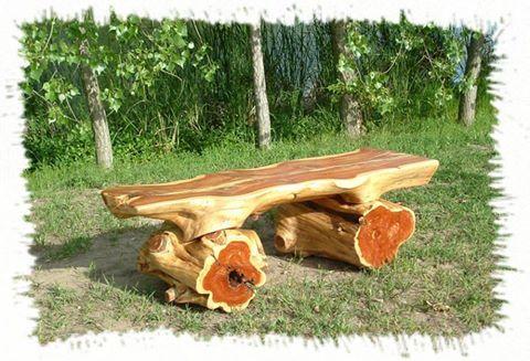 garden-bench Ideas for Log Home Furniture Pinterest Bench, Log