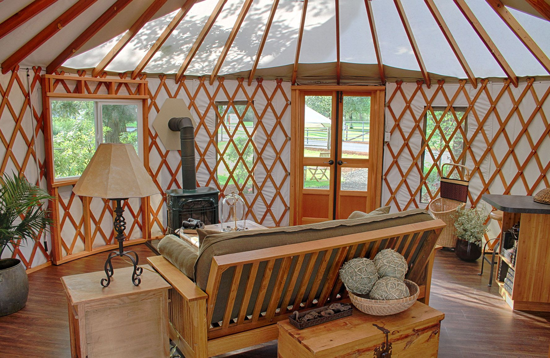 20' yurts - pacific yurts | guest cottage | pinterest | yurts