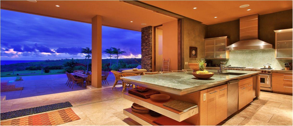 Equity Estates Hawaii Home in Kapalua, Maui; the Kitchen | Hawaii ...