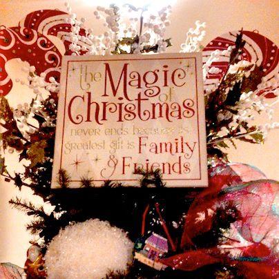 Christmas Tree Topper #Christmas #Decorations Christmas
