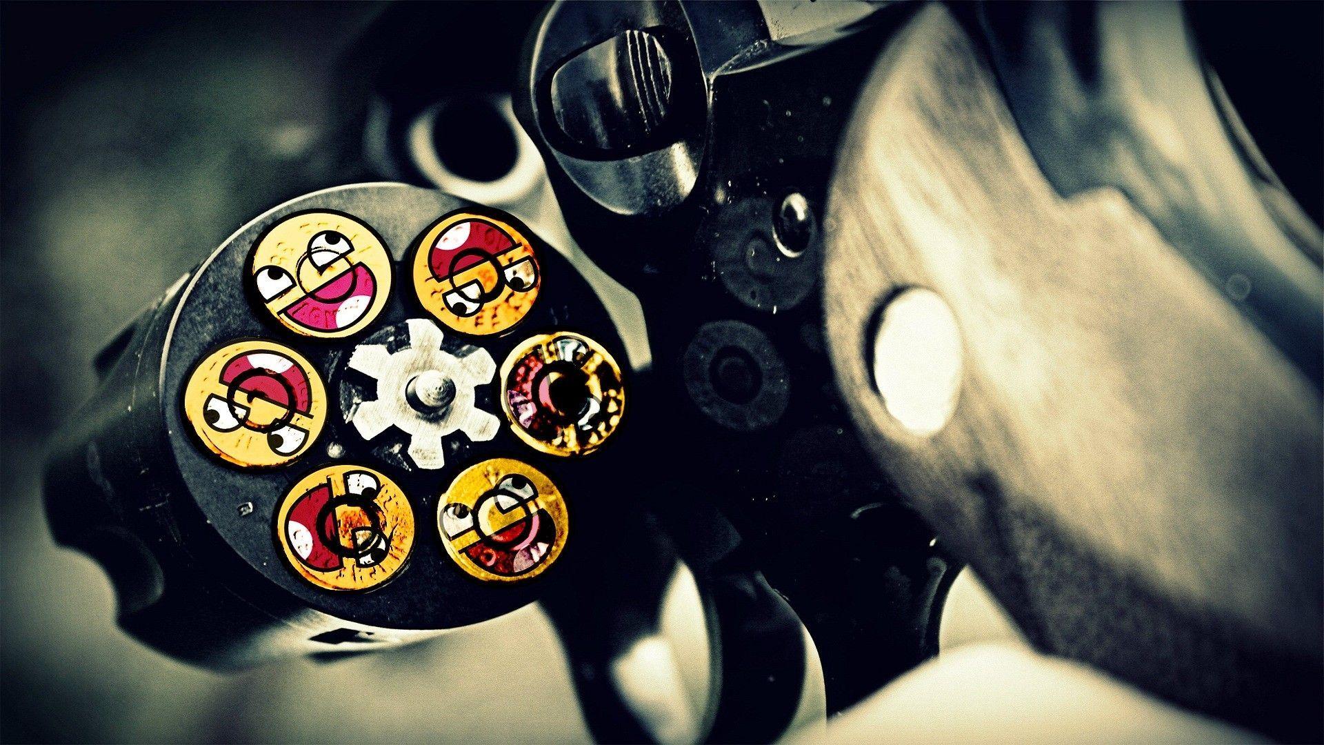 smiley face ammunition
