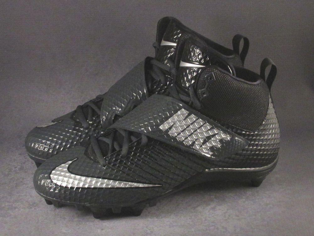 11793e6e7 Men s Nike LunarBeast Strike Pro D Football Cleats sIZE 11 Grey ...