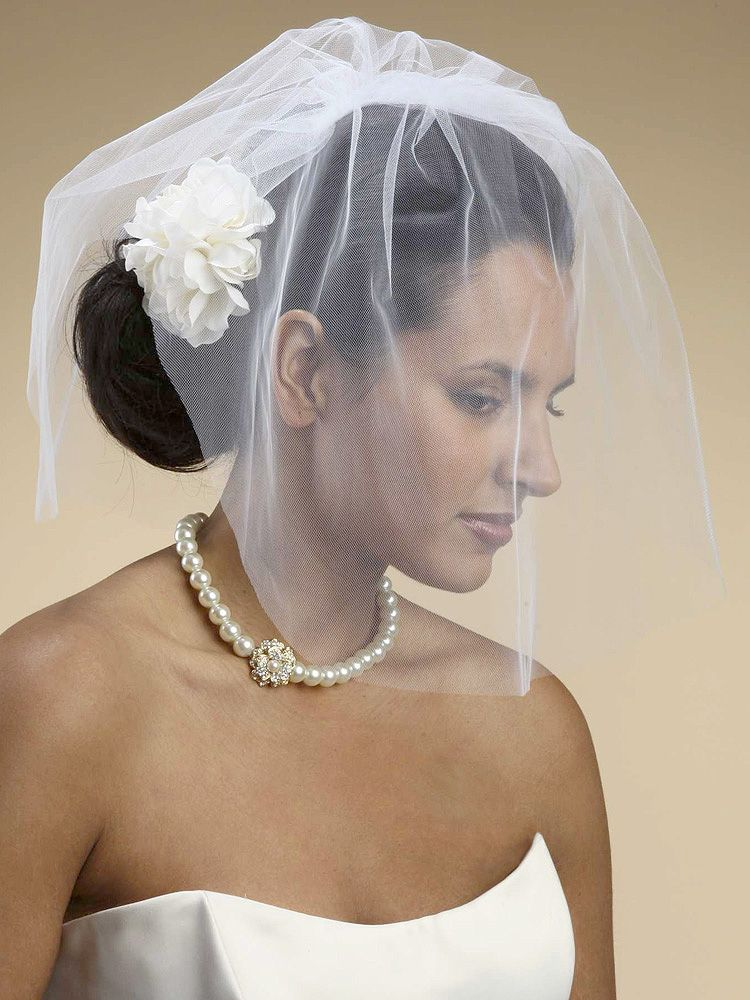 Wedding Bridal Birdcage Veil Google Search Short veil