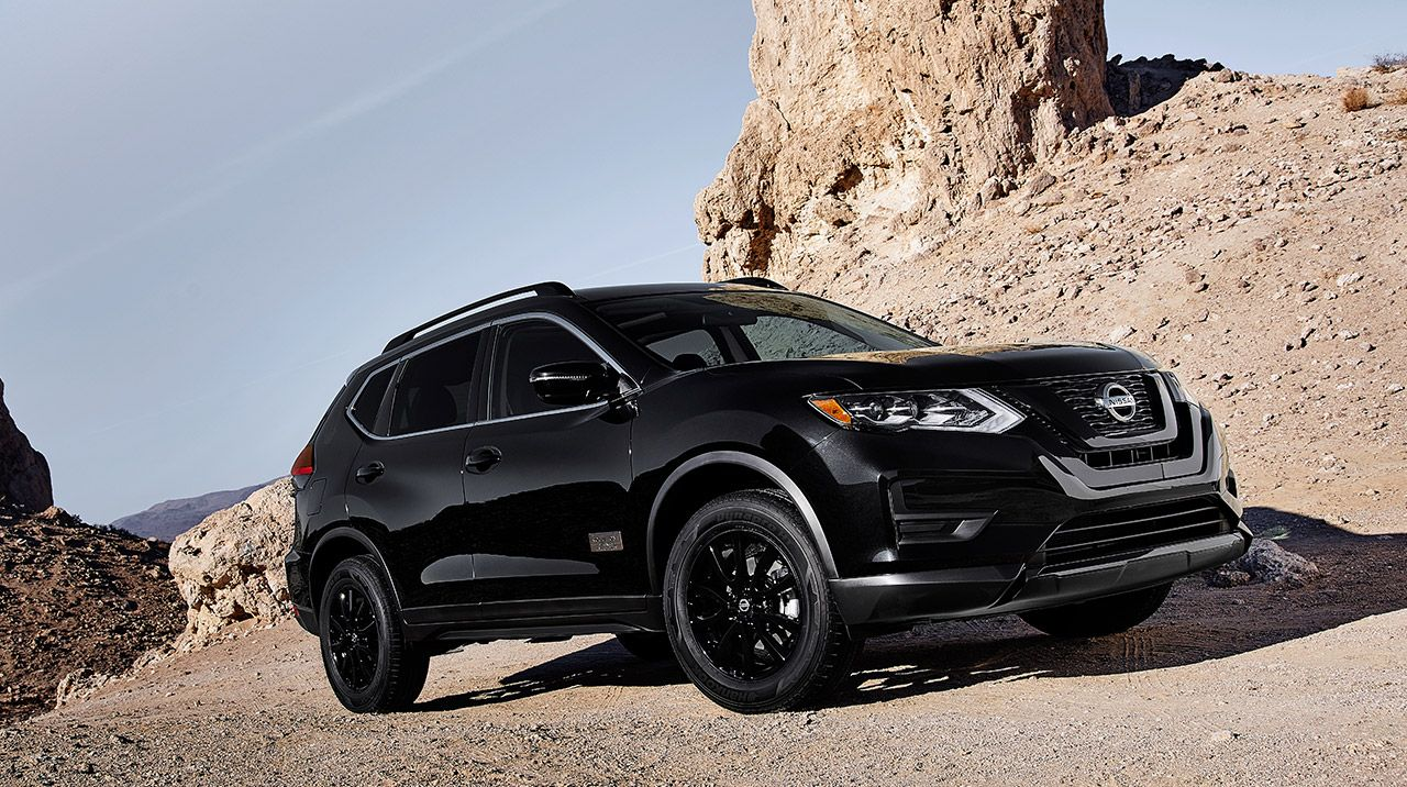 The Nissan Rogue is made for adventures on the road