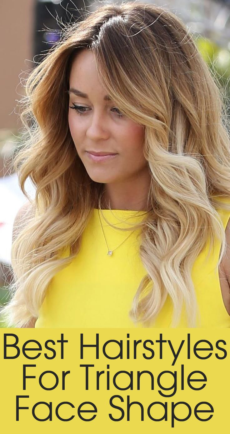 50 best hairstyles for triangle face shape best ombre