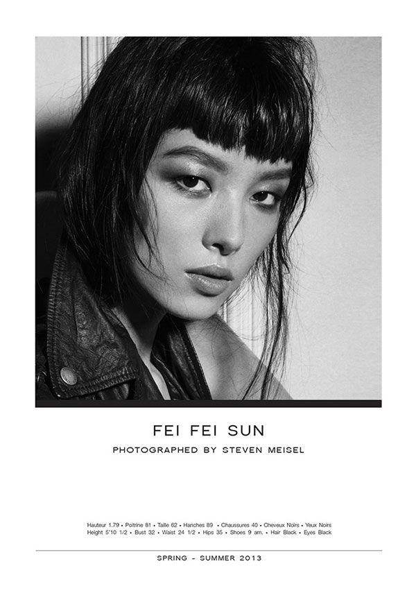 Fei Fei Sun, photographed by Steven Meisel.  Show Package – Paris S/S 13: Elite (Women) - Of The Minute