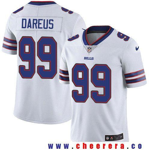 Top Men's Buffalo Bills #99 Marcell Dareus White 2017 Vapor Untouchable  free shipping