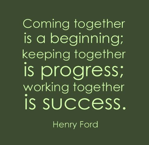 Henry Ford Parenting Quote Parents Teamwork Ford Quotes Work Quotes Teamwork Quotes