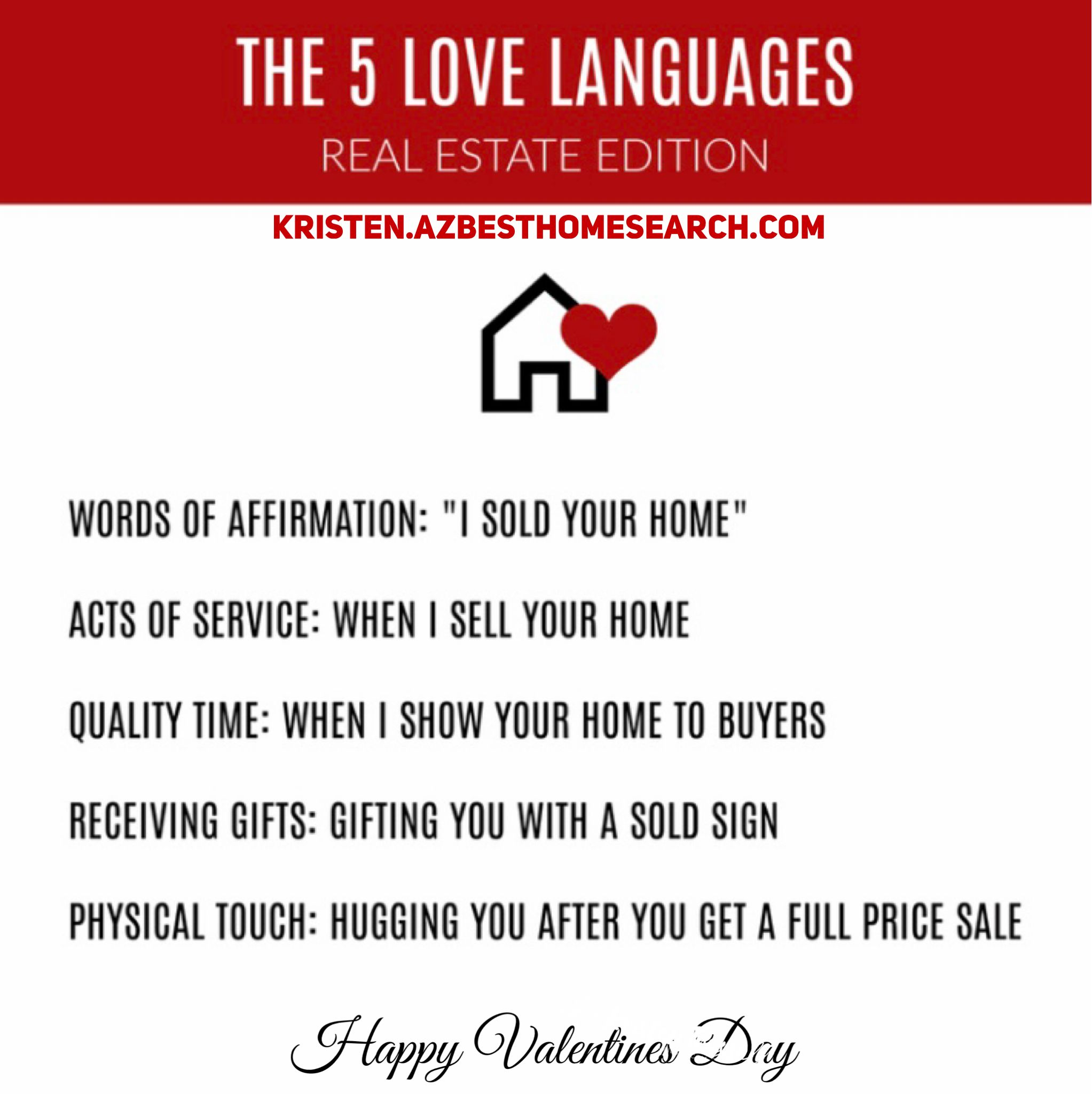 Real Estate Meme Words Of Affirmation Physical Touch Affirmations