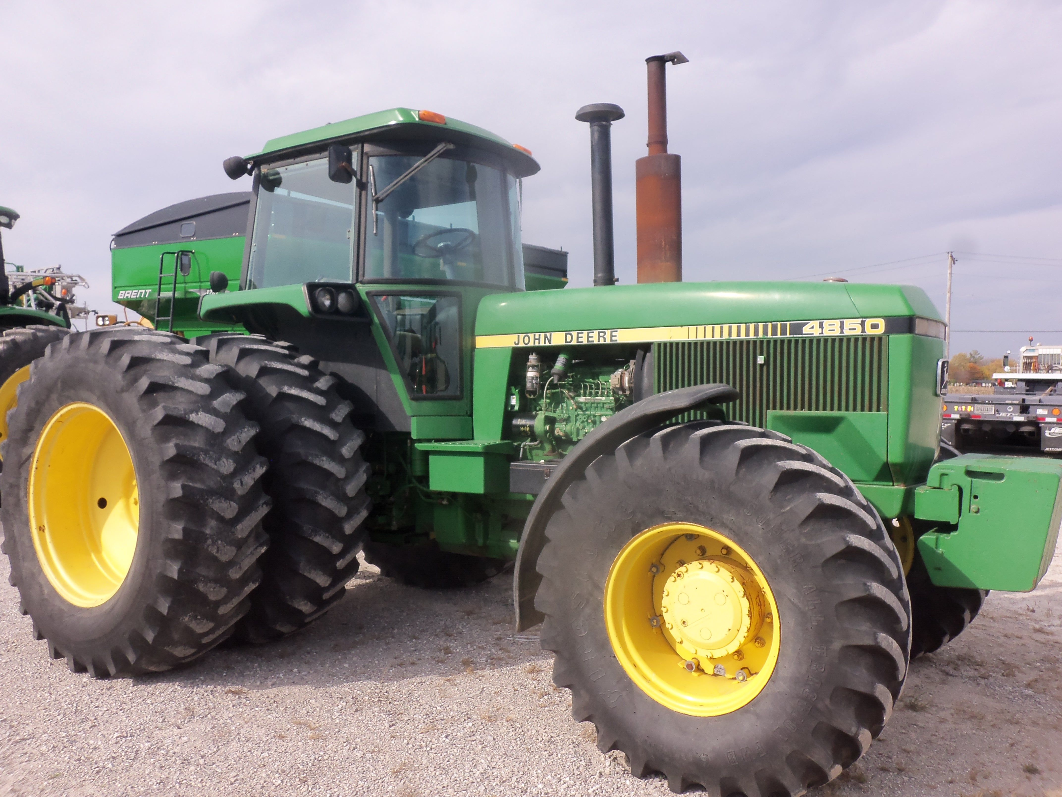 from 30 years ago is this 192 99 hp john deere 4850 tri green from 30 years ago is this 192 99 hp john deere 4850