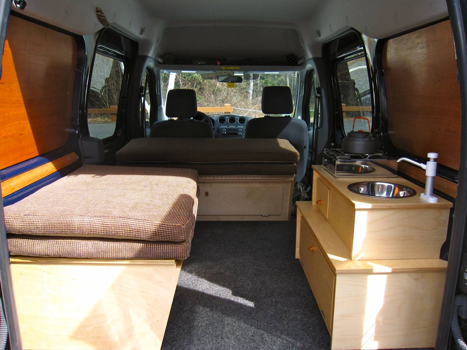 Transit Connect Camper Transit Connect Camper Photo Gallery Ford Transit Connect Forum Ford Transit Camper Transit Camper Ford Transit