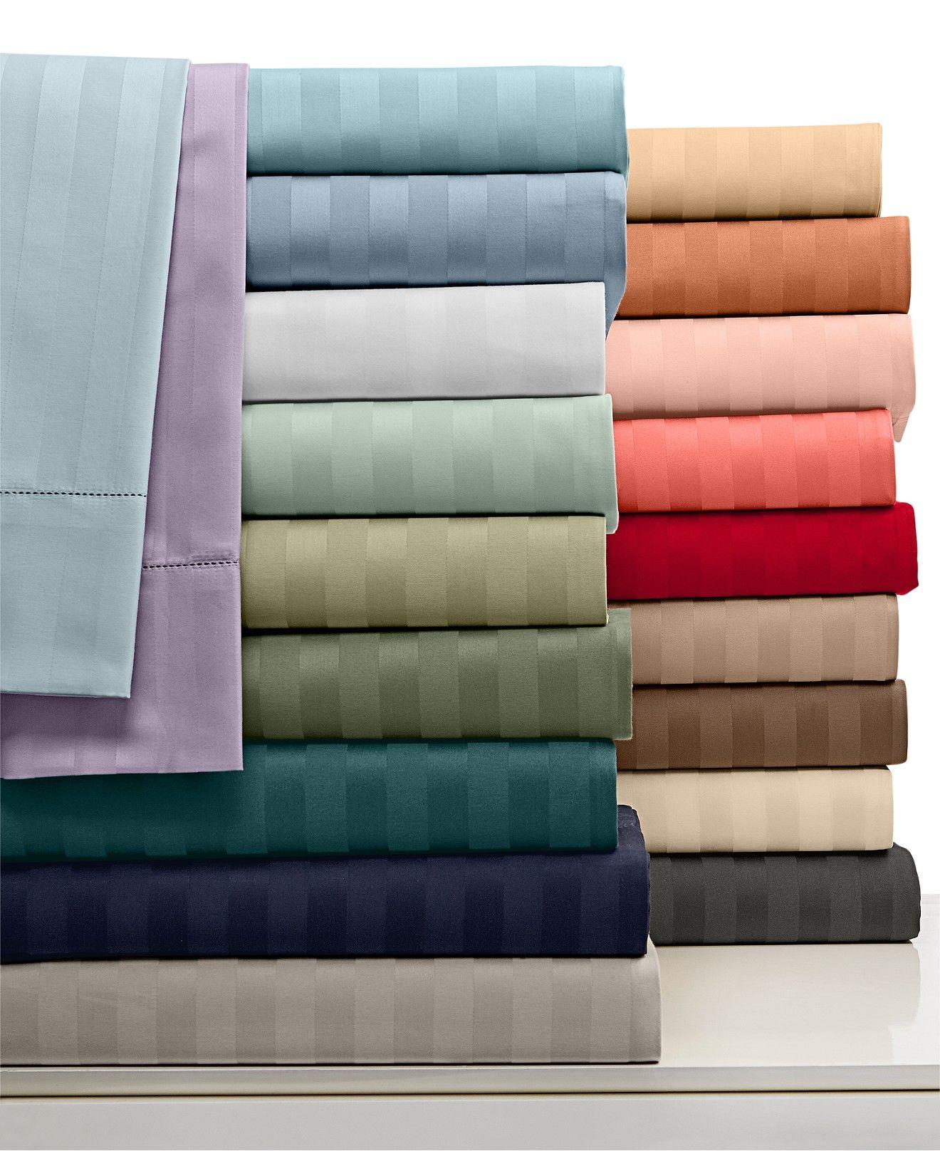Charter club damask stripe wrinkle resistant 500 thread