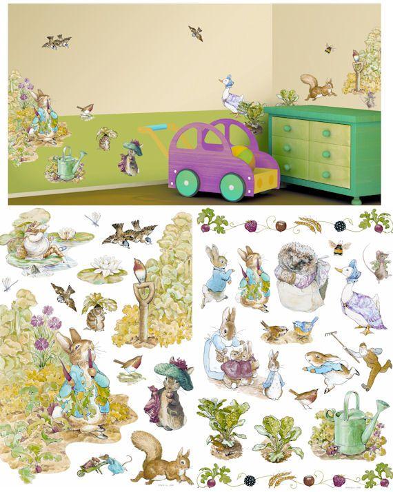 Art Applique Beatrix Potter Wall Sticker   Wall Sticker Outlet