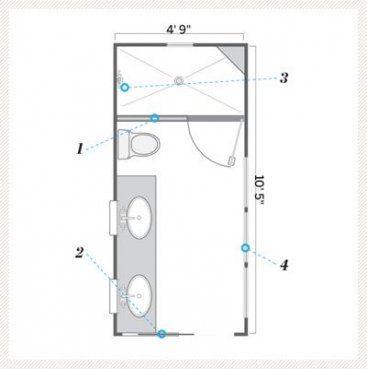 bathroom layout with closet pocket doors 34+ super ideas #