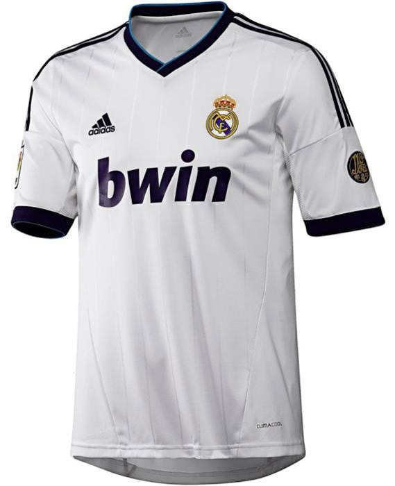 Camiseta Real Madrid 2012 2013 Real Madrid Shirt Real Madrid Football Shirts