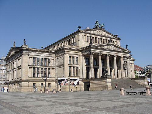 Schauspielhaus Gendarmenmarkt Berlin Berlin Berlin Germany Around The Worlds