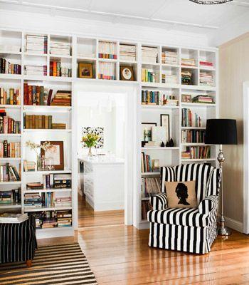 Bookshelves Around The Door Home Decor Home Family