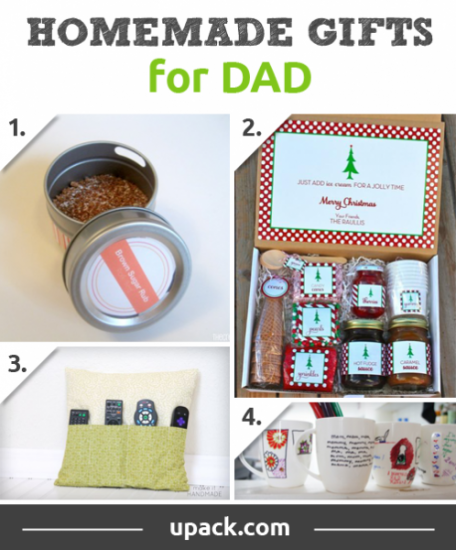 Make Dad's day with these homemade gift designs