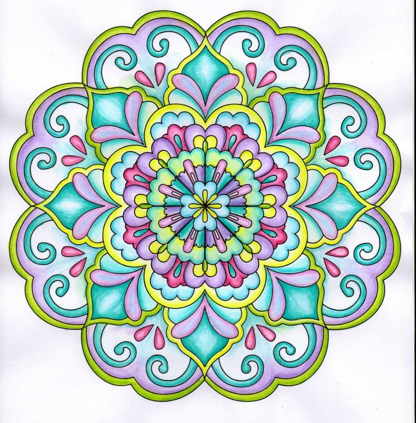 Mandala Coloring Book For Adults With Thick Artist Quality Paper Hardback Covers And Spiral Bi Mandala Coloring Books Mandala Coloring Mandala Coloring Pages