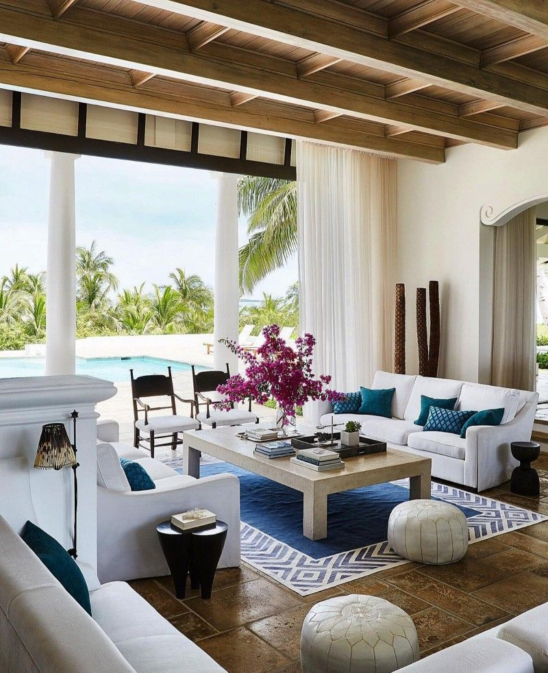 Pin By R Sh On Decor Inside Celebrity Homes Beach House Decor Bahamas House Celebrity living rooms part 2