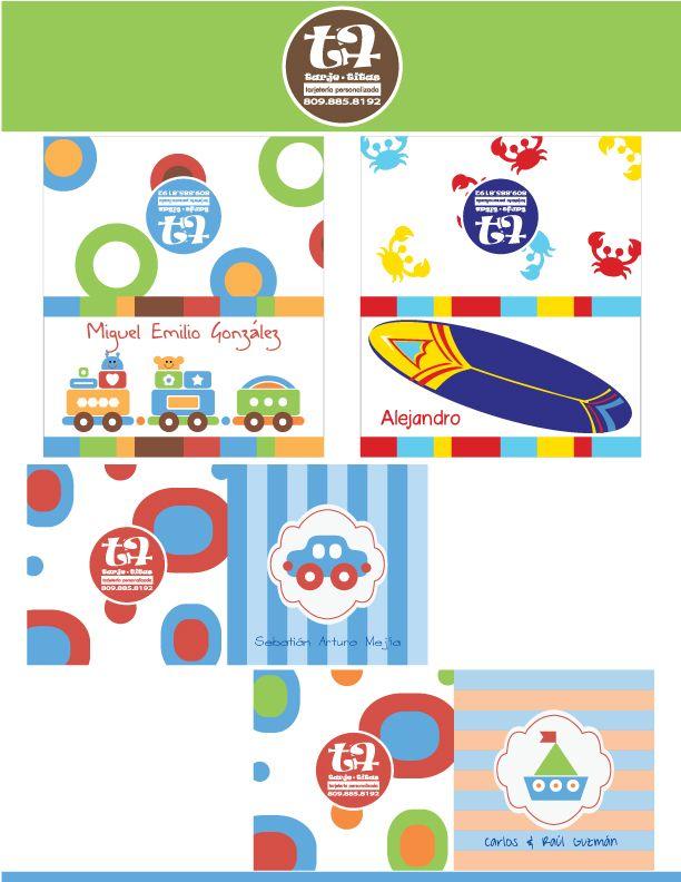 Tarjetas personalizadas para regalos tarjetas personales - Regalos solidarios para ninos ...