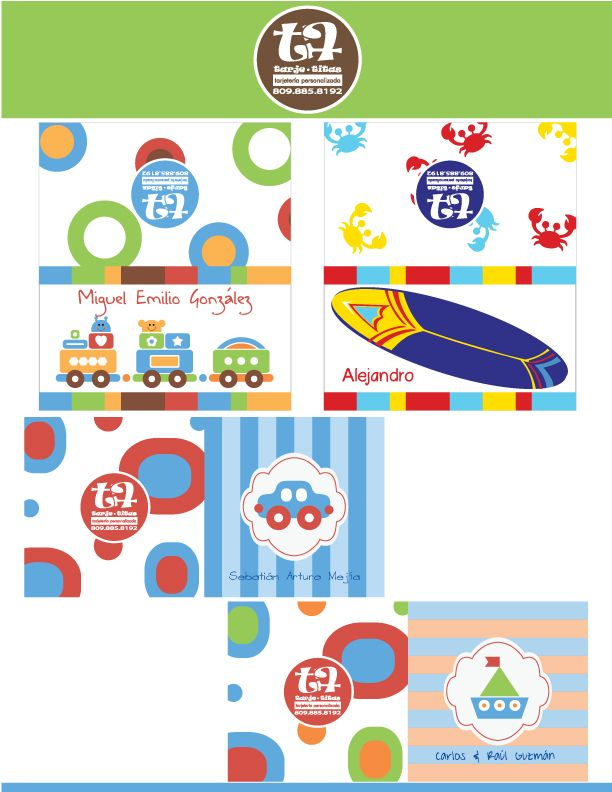 Tarjetas personalizadas para regalos  93e6c7b70f1a7