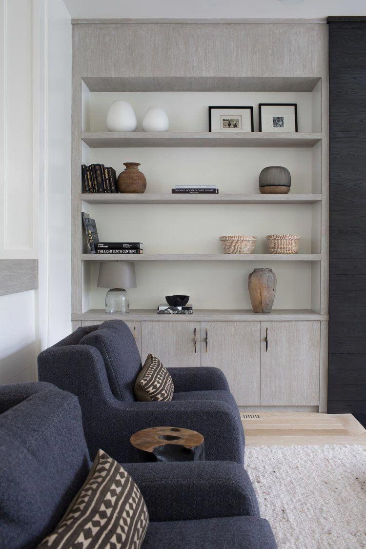 Styling bookshelves modern living room decor bookshelves on either side of the