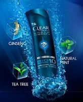 Free Clear Men Scalp Therapy Sample! (on Facebook)