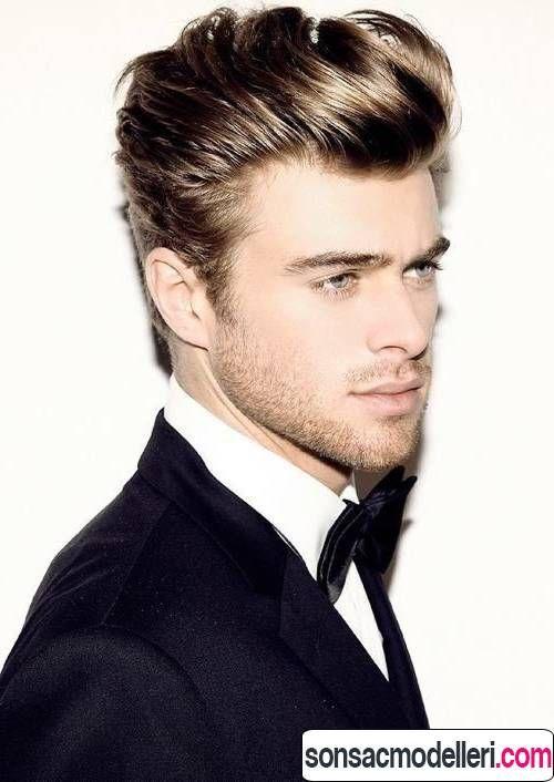 2016 Sezonu Erkek Saç Modelleri Ve Trendleri. Men Curly Hairstyles1950s ...