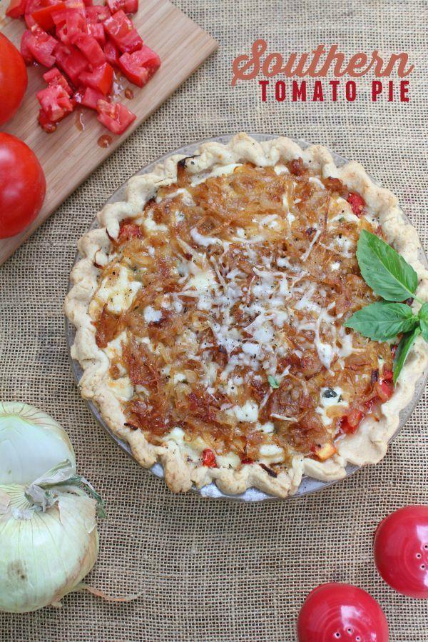 Southern Tomato Pie recipe -- Simple way to enjoy fresh tomatoes!