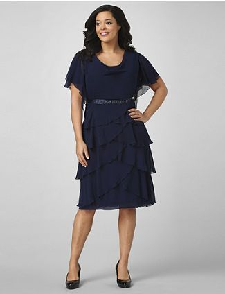 Mother Aunt Of The Bride Dress Option Dresses Pretty Dresses Tiered Dress