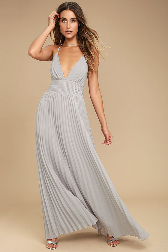 Depths Of My Love Grey Maxi Dress In 2018 Bridesmaids Pinterest