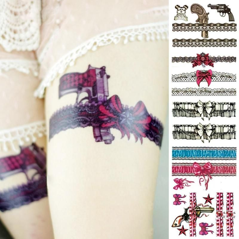 Sexy girl flash tattoos